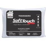 Travesseiro Soft Touch Toque Macio 50x70cm Arte & Cazza 1 Unidade