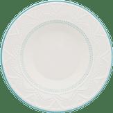 Prato Fundo de Porcelana 23cm Serena Sky Oxford 1 Unidade