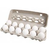 Ovos Brancos Grandes Categoria A Nossa Granja Confiare Bandeja 12 Unidades