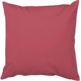Almofada em Microfibra Tecelagem Rosa Cereja Damata 40x40cm 1 Unidade