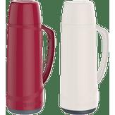 Garrafa Térmica Vermelha e Gelo 1L Cristal Sortida Soprano 1 Unidade