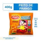 Empanados de Carne e Frango Turma da Mônica Seara Pacote 400g