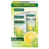 Kit Shampoo + Condicionador Detox Energizante Naturals Palmolive Caixa com 2 Unidades 350ml Cada Preço Especial