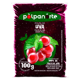 Polpa de Fruta Uva Polpanorte Pacote 100g