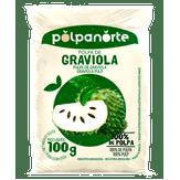 Polpa de Fruta Graviola Polpanorte Pacote 100g