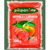 Polpa de Fruta Acerola e Laranja Polpanorte Pacote 100g