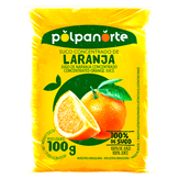 Suco Concentrado de Laranja Congelado Polpanorte Pacote 100g