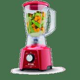 Liquidificador Vermelho Power Mix LQ11 com 2 Velocidades 550W Arno