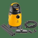 Aspirador de Pó e Água Profissional com Rodas 360° Alcance Total 20l GT30N 127V Amarelo Electrolux