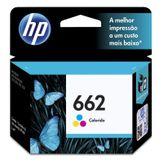 Cartucho de Tinta para Impressora HP 662 Colorido