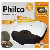 Mini Grill Inox 110V Philco
