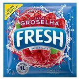 Refresco em Pó Groselha Fresh Pacote 10g