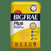 Fralda Descartável Adulto Bigfral Plus G com 8 Unidades