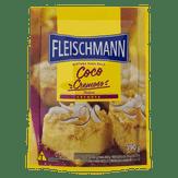 Mistura para Bolo Coco Cremoso Fleischmann Sachê 390g