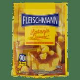 Mistura para Bolo Laranja Cremoso Fleischmann Sachê 390g