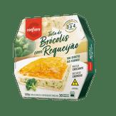 Torta de Brócolis com Requeijão Congelada Confiare Caixa 500g
