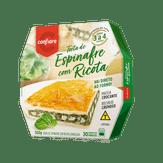 Torta de Espinafre com Ricota Congelada Confiare Caixa 500g