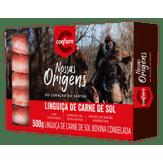 Linguiça de Carne de Sol Nossas Origens Confiare Caixa 500g