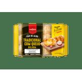 Pão de Alho Tradicional com Queijo Tipo Bolinha Confiare Pacote 300g