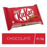 Wafer com Recheio e Cobertura Chocolate ao Leite Kitkat Nestlé Pacote 41,5g