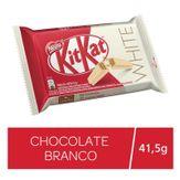 Wafer com Recheio e Cobertura Chocolate Branco Kitkat White Nestlé Pacote 41,5g