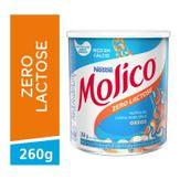 Composto Lácteo Zero Lactose Nestlé Lata Molico Nestlé Lata 260g
