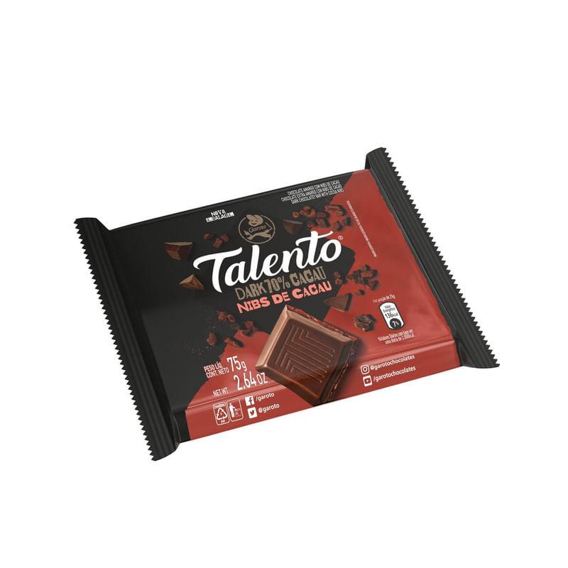 Barra-de-Chocolate-Dark-70--Cacau-com-Nibs-Garoto-Talento-75g
