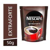 Café Solúvel Granulado Extraforte Original Nescafé Sachê 50g