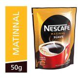 Café Solúvel Granulado Suave Matinal Nescafé Sachê 50g