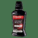 Enxaguante Bucal Luminous White Carvão Colgate 500ml Novo
