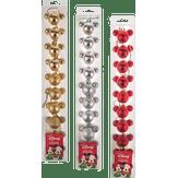 Kit Bolas Natalinas Mickey Mouse Disney Caixa com 10 Unidades Cores Sortidas