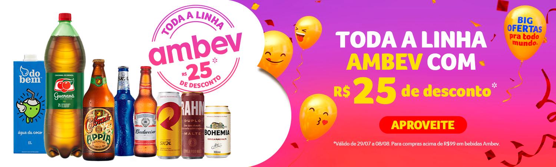 AMBEV R$25 de desconto