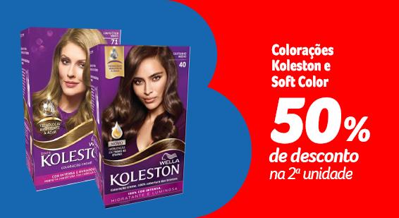 Festival da Beleza - Koleston, Soft Color com 50% na 2ª - Destaque - 20.09