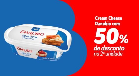 Cream Cheese Danubio com 50% de desconto na 2a unidade - Sugestões - 21.09
