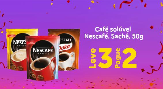 Café Solúvel Nescafé Sachê